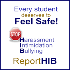 Stop harassment, intimidation & bullying!
