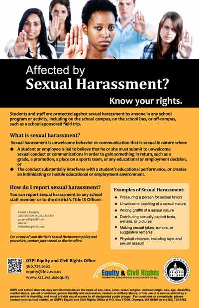 Is Are Categories Of Sexual Harassment
