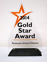 Gold Star Award 2014