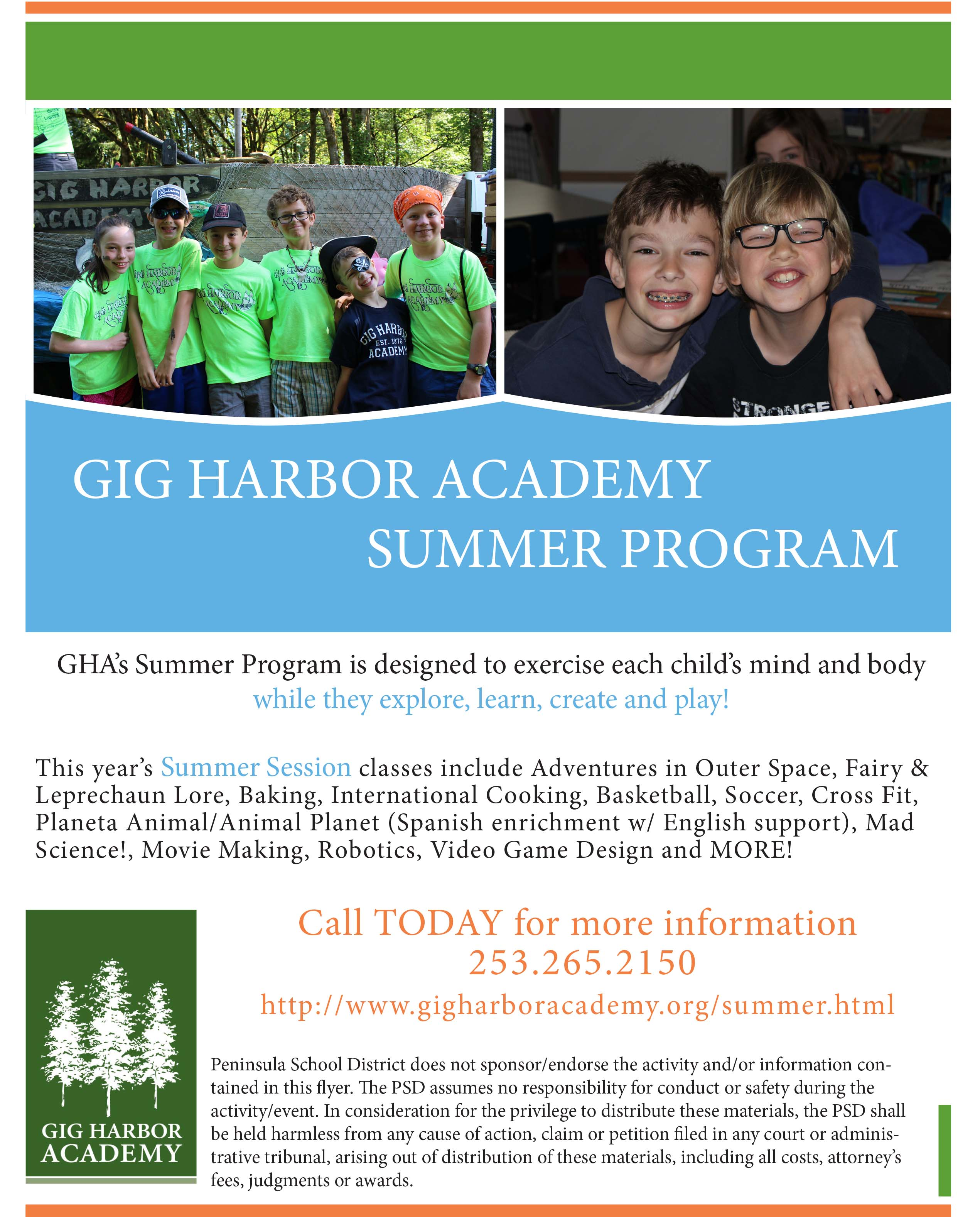 GHA Summer Session 2016